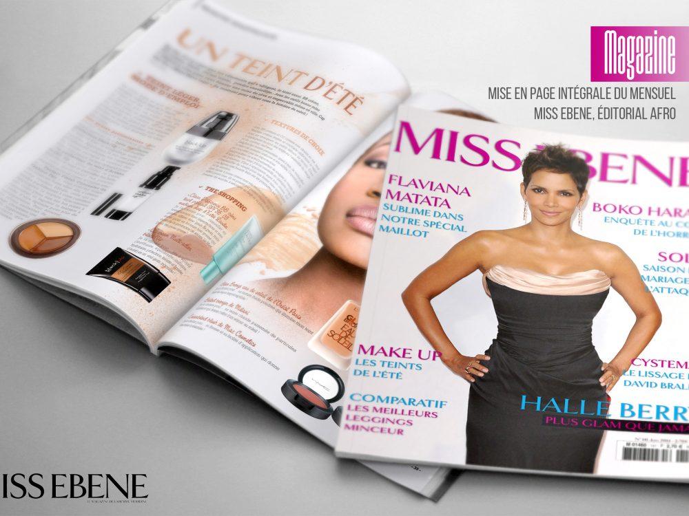 Magazine Miss Ebene