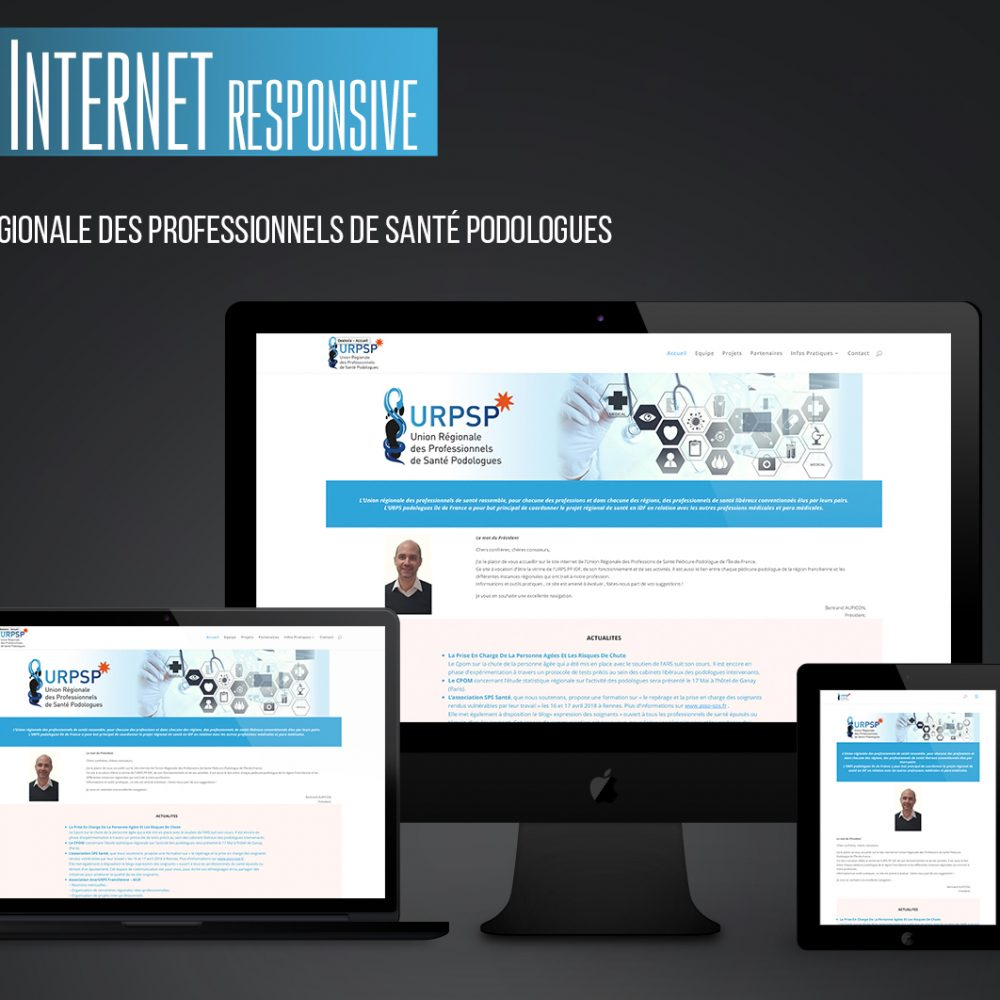 Site Web URPS IDF